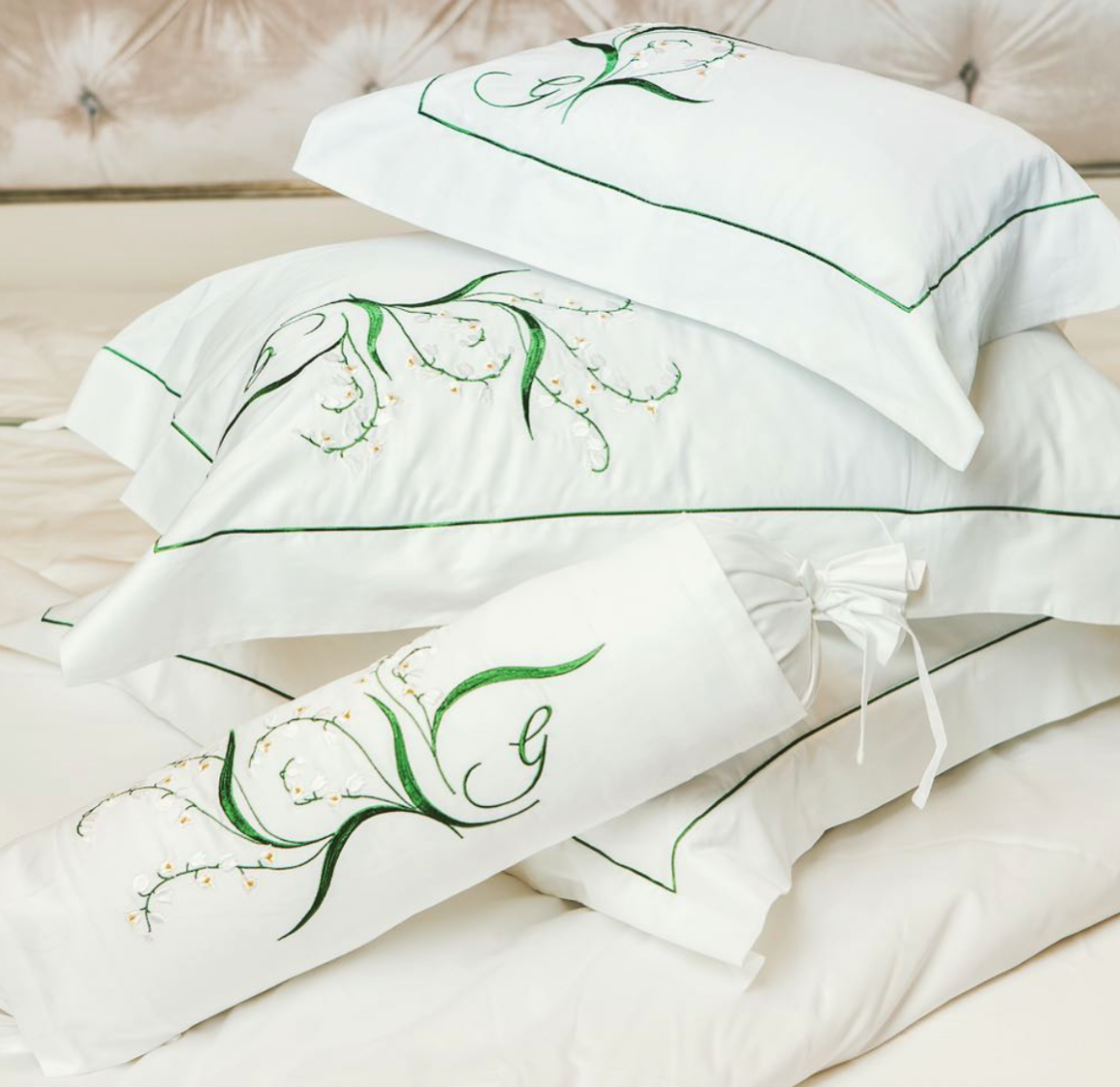 Bed linen collection design